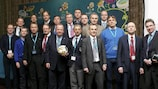 Delegierte beim Treffen der EURO-Mannschaftsärzte in Warschau