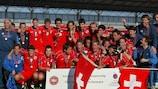 Suiza, primer título en Dinamarca