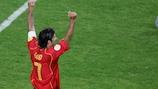 Portugal talisman Luís Figo scored in the 1989 final of the UEFA European Under-16 championship