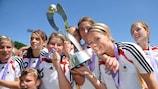 Die deutsche Mannschaft bejubelt den Titelgewinn