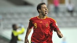 Thiago scored in the final against France and played as big a part as anyone in Spain's success