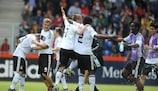 La Germania ringrazia i tifosi a modo suo