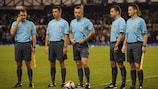 The trial with five officials proved a success in the UEFA Europa League