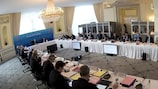 The UEFA Executive Committee meeting in Lausanne today