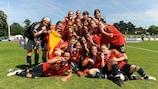 España, vigente campeona del torneo