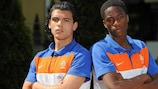 Netherlands and Feyenoord defenders Karim Rekik and Terence Kongolo