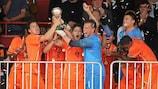 Gran actuación de Holanda en Serbia
