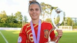 Alba Pomares, who scored the winning goal in the 2011 final, is eligible again this season