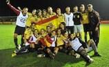A Espanha, campeã em título, venceu os três encontros que disputou na Primeira fase de qualificação