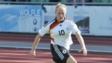 Madeline Gier scored a decisive hat-trick against Russia