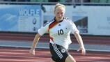 Madeline Gier war gegen Russland dreimal erfolgreich
