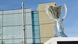 The UEFA Women's Champions League trophy
