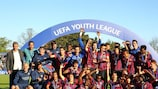 FC Barcelona won the first edition of the UEFA Youth League under sunny skies in Nyon