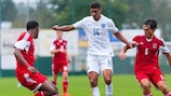 England's Ruben Loftus-Cheek in action against Luxembourg