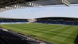 Chesterfield será palco de quatro jogos, incluindo a final, dia 8 de Dezembro