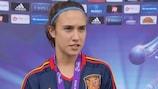 Nahikari García, capitana de la selección española