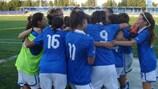 Italia sub-17 celebra su victoria ante Suiza
