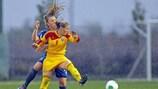Mihaela Ciolacu and her Romania team-mates are through