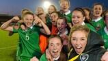 La victoria de Irlanda ante Inglaterra fue clave para su clasificación