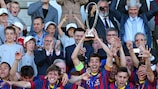 Barcelona won the first edition in 2013/14