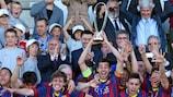 Barcelona holte den Titel 2013/14