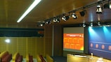 UEFA headquarters in Nyon is the setting for the draw