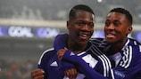Anderlecht reached the semi-finals last season