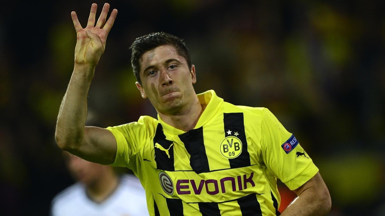 Who are Robert Lewandowski's favourite opponents? | UEFA Champions League | UEFA.com