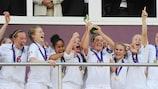 Inglaterra vence torneio dos recordes