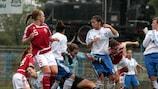 Dinamarca se impuso por 4-0 a Grecia