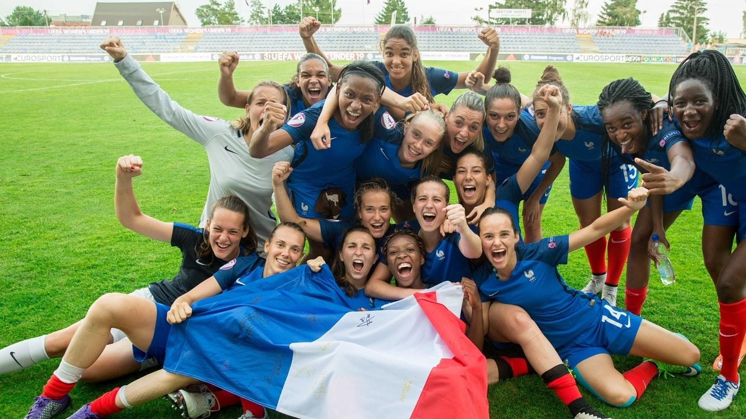 Katoto stars as France, Netherlands edge through - Women's Under ...