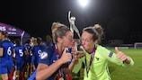 Frankreich holte nach dem U19-Titel der Herren auch den der Frauen