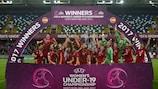 So feierten die Spanierinnen ihren Titelgewinn
