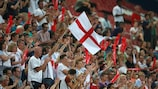 England fans at Women's EURO 2017