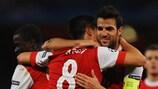 Sizzling Arsenal sweep Shakhtar aside