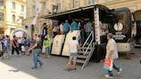 Auch in Bukarest kamen die Fans in Strömen