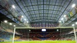 A Amsterdam ArenA é o palco da final da UEFA Europa League, na quarta-feira, dia 15 de Maio