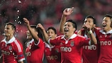 Atitude garante final de Amesterdão ao Benfica