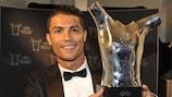 Ronaldo Meilleur joueur d'Europe de l'UEFA