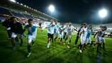 Sevilla jubelt über den Einzug ins Finale der UEFA Europa League