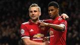 Marcus Rashford erzielte den Siegtreffer für Manchester United