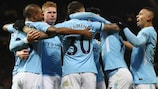 O Manchester City venceu em Old Trafford