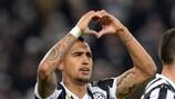 Juventus revived as Vidal shoots down København