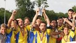 Piemonte Valle d'Aosta gewann den Regionen-Pokal 2003