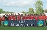 Central Moravia gewann 2001 den UEFA-Regionen-Pokal