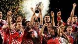 O Castilla comemora o título conquistado em 2009