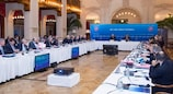 The UEFA Executive Committee met in St Petersburg
