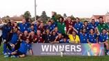 Il Veneto festeggia il successo in UEFA Region's Cup