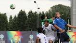 Franco Ballarini ha vinto la classifica marcatori della UEFA Region's Cup