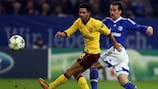 Arsenal and Schalke both begin their UEFA Champions League campaigns in the play-off round